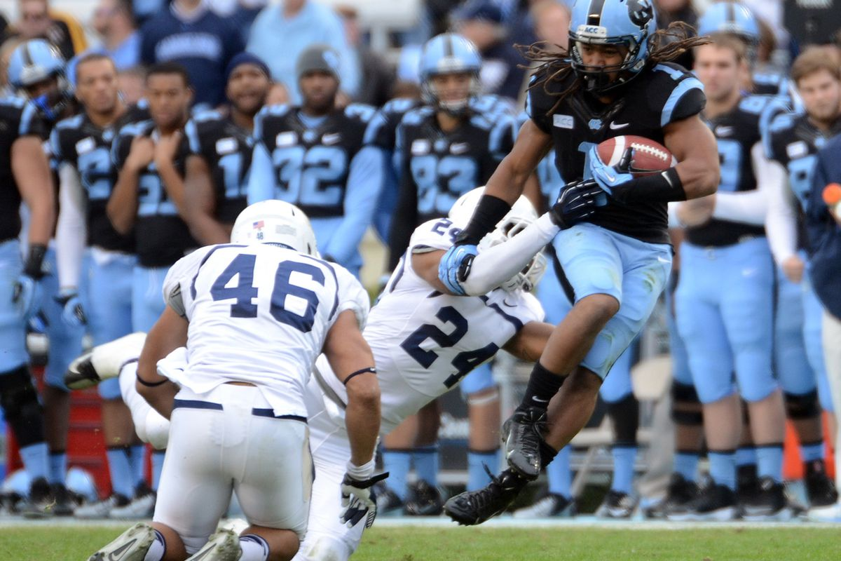 North Carolina made headlines with their historic rout of FCS independent Old Dominion.