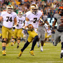 Will Fuller runs in for the score