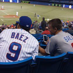 Look how popular Javier Baez is in Canada!