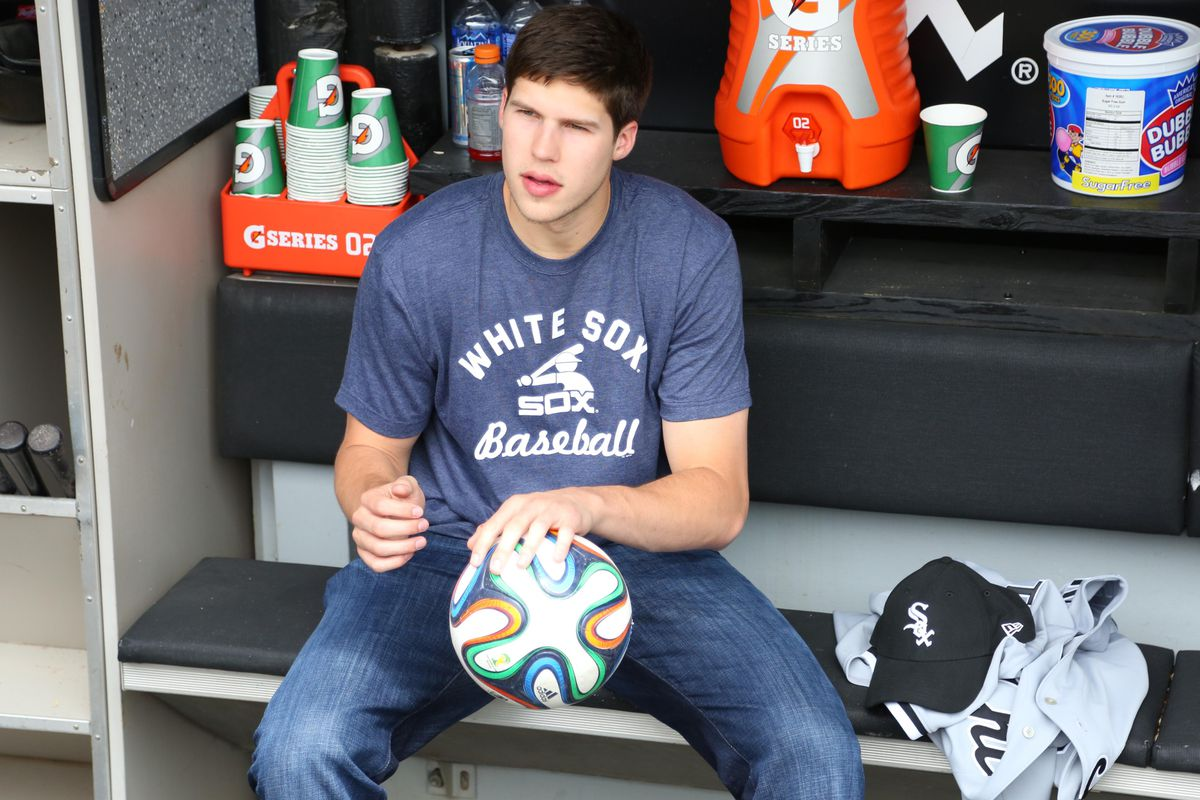 Doug McDermott is taking in all things Chicago, like the White Sox and soccer.