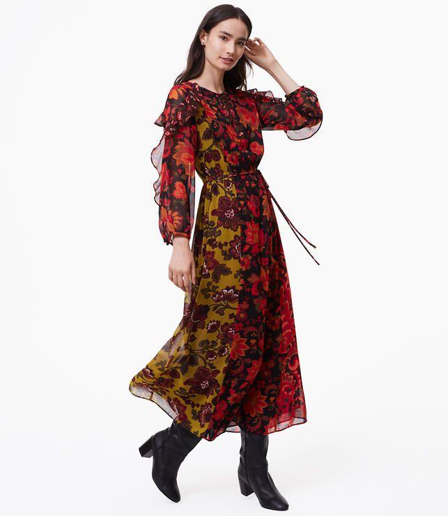 Woodland Maxi Dress