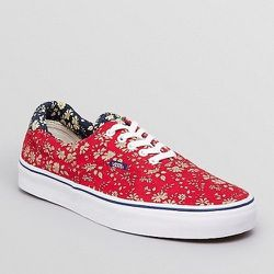 """<strong>Vans</strong> Era 59 Floral Sneakers in Red, <a href=""""http://www1.bloomingdales.com/shop/product/vans-era-59-floral-sneakers?ID=771763&CategoryID=1000054&LinkType=#fn=spp%3D47%26ppp%3D96%26sp%3D2%26rid%3D82%26spc%3D205%20items%20in%20Sneakers"""">$55"""