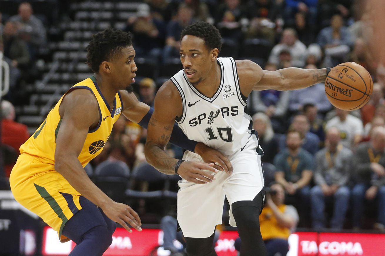 A spirited DeRozan performance was not enough to overcome the Jazz execution