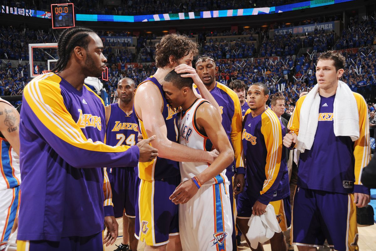 Los Angeles Lakers v Oklahoma City Thunder, Game 6