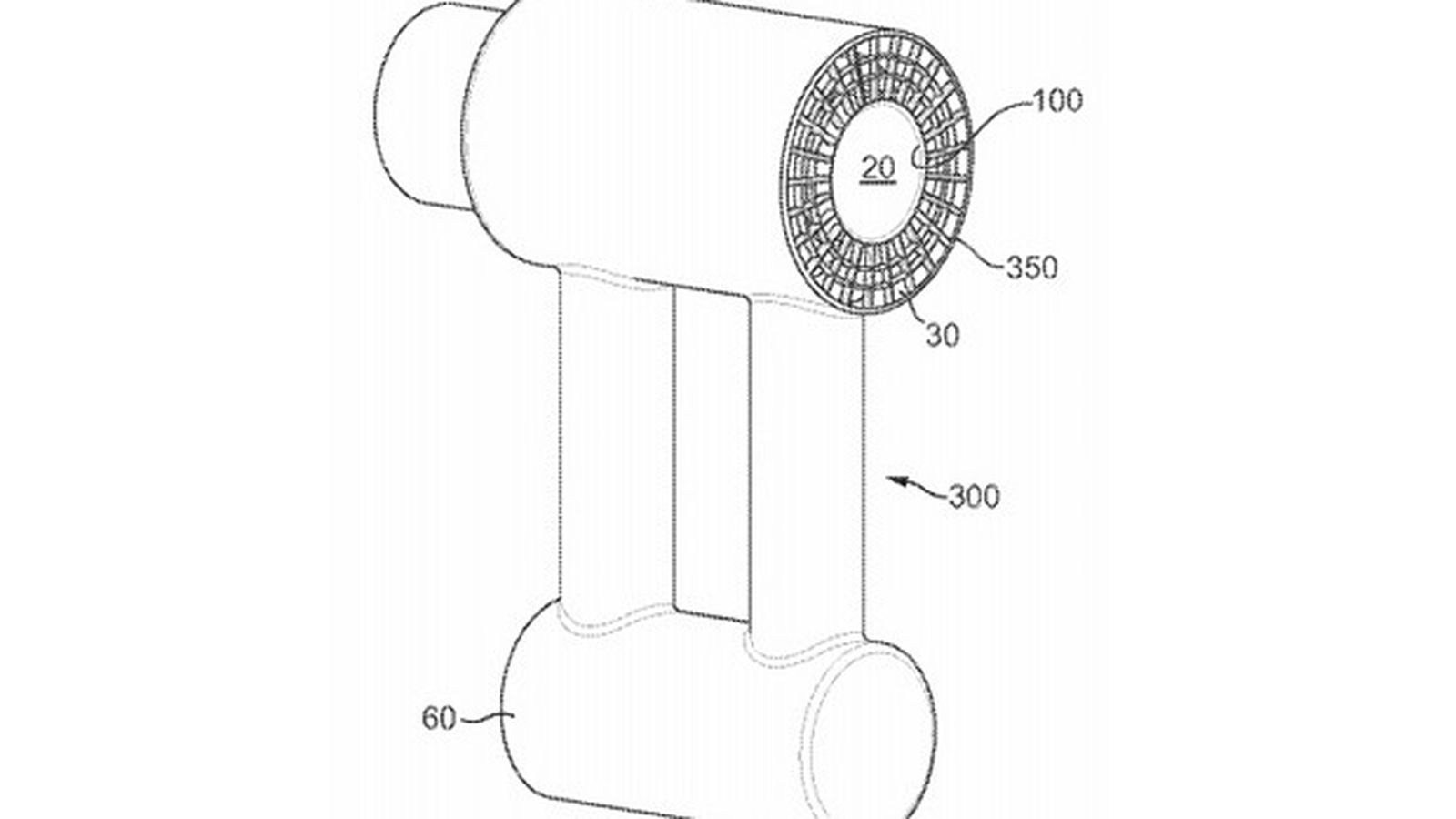 dyson wants to silence the hair dryer  according to patent