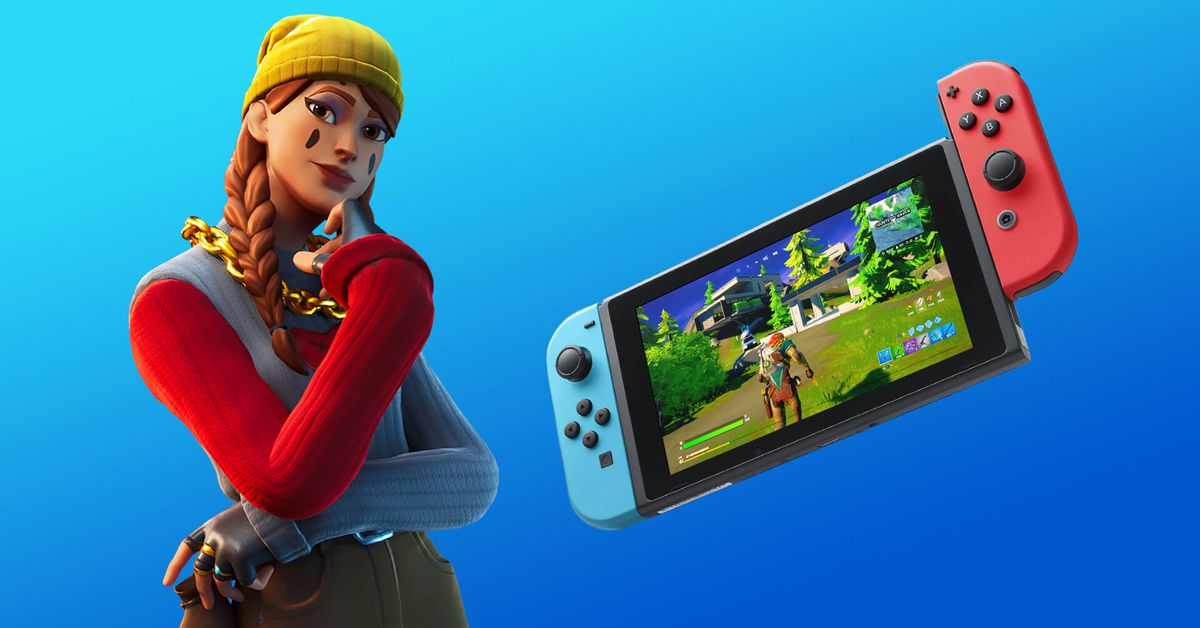Fortnite on Nintendo Switch gets boosted resolution, better frame rate