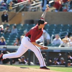 Tyler Skaggs lets rip against the Rockies
