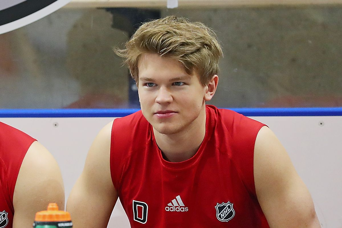 Getting to know 64th overall pick Mattias Norlinder
