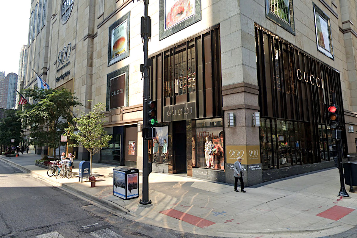 A Gucci store, 900 N. Michigan Ave., was robbed Feb. 24, 2020.