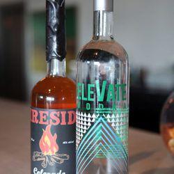 Fireside Whiskey & Elevate Vodka
