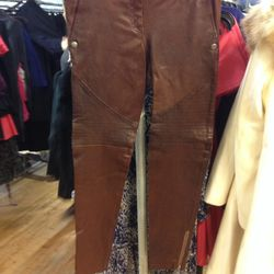 Leather Pants, $324