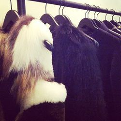 Very expensive fur by The Row.