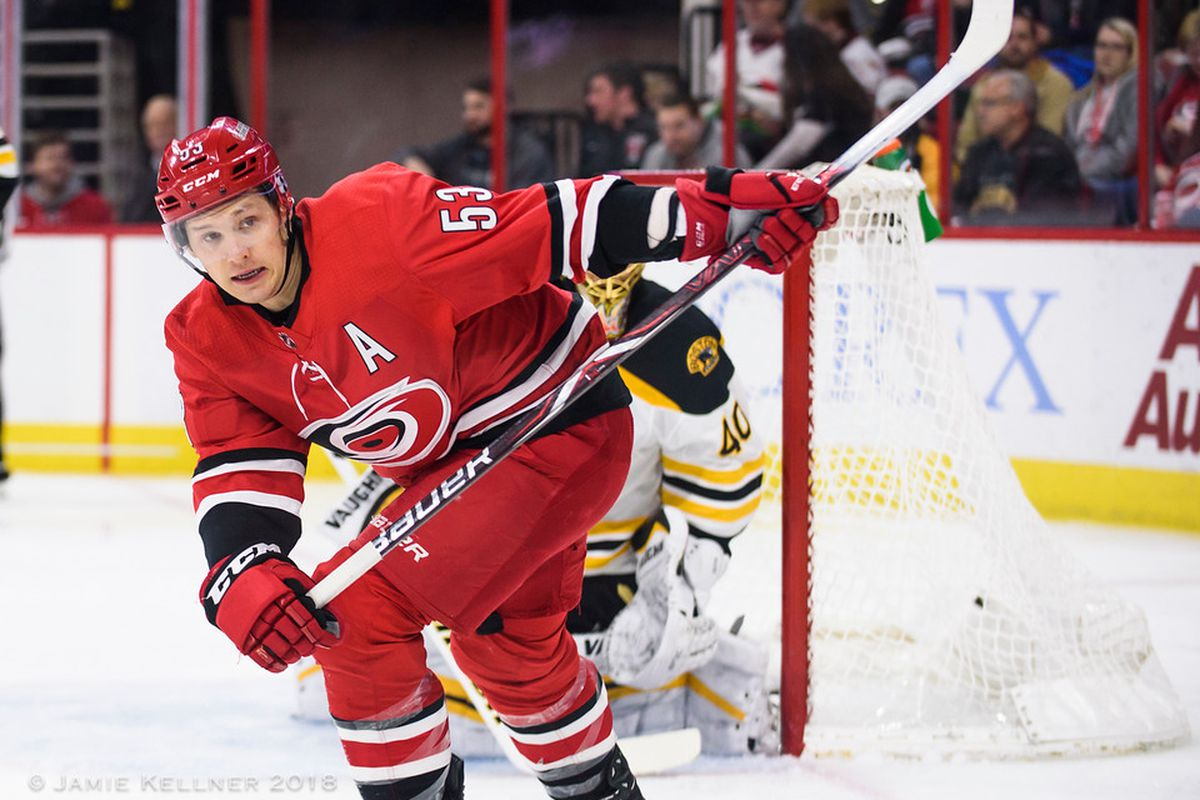 Report: Hurricanes on the verge of trading Jeff Skinner