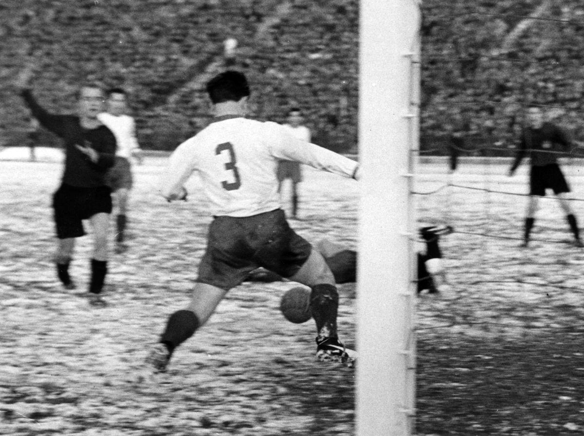 DFB-Pokalfinale 1957 - FC Bayern München - Fortuna Düsseldorf 1:0