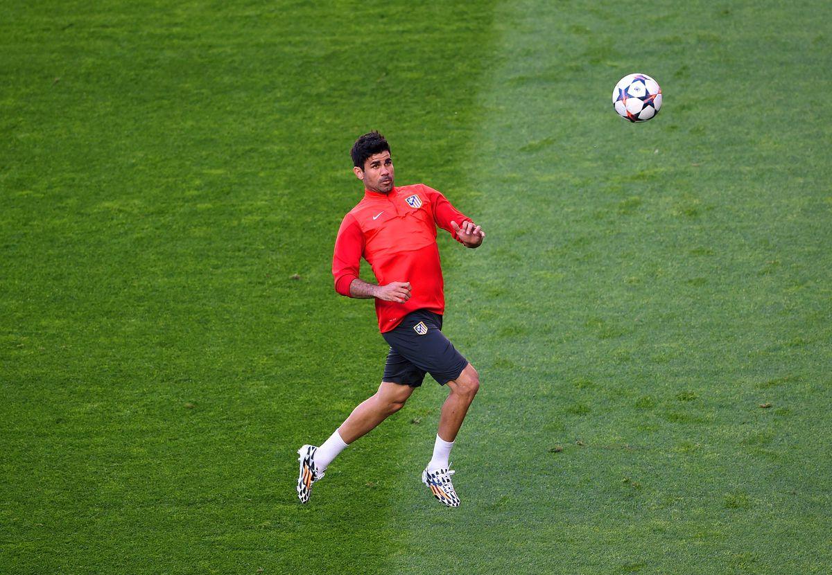 Club Atletico de Madrid Training - UEFA Champions League Final