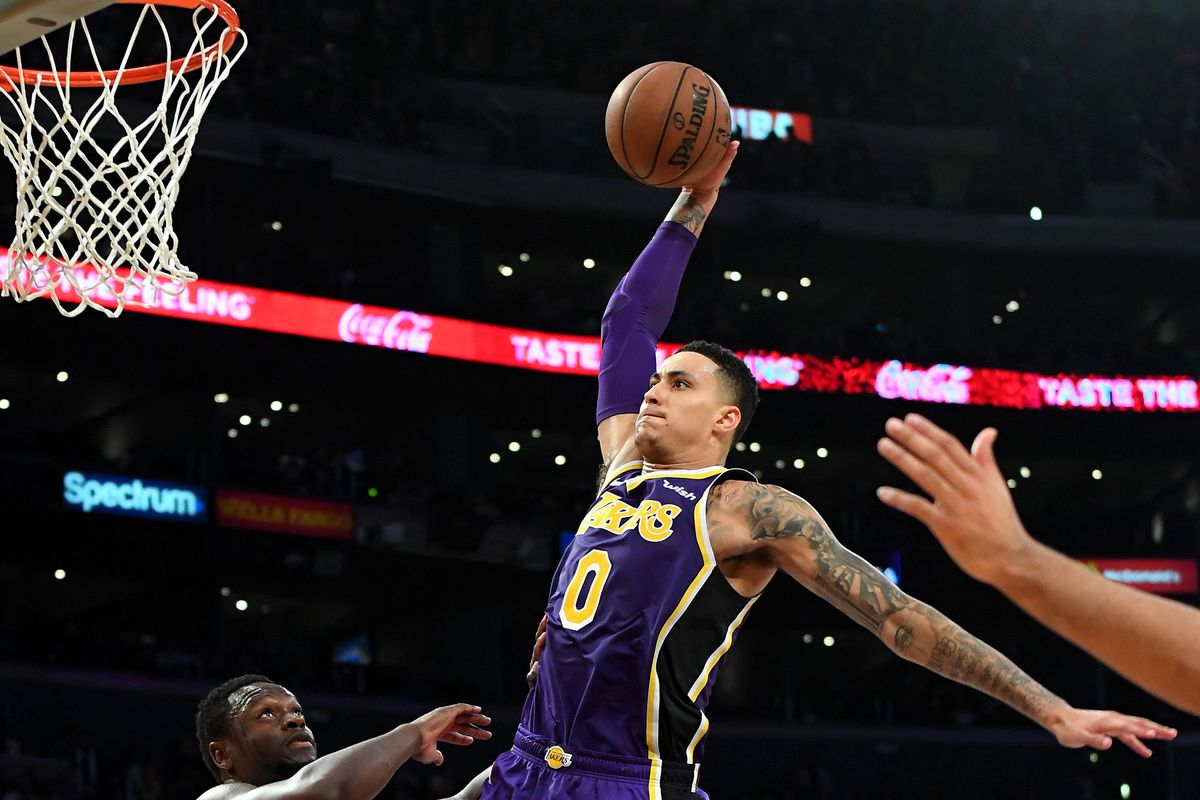 915d86006c5f Kyle Kuzma says  it s kind of weird  that the Lakers play better against  good teams and worse against bad teams