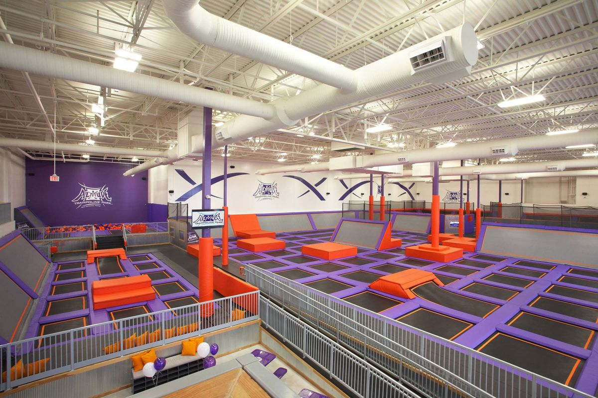 First Indoor Trampoline Park Coming To Chicago Curbed