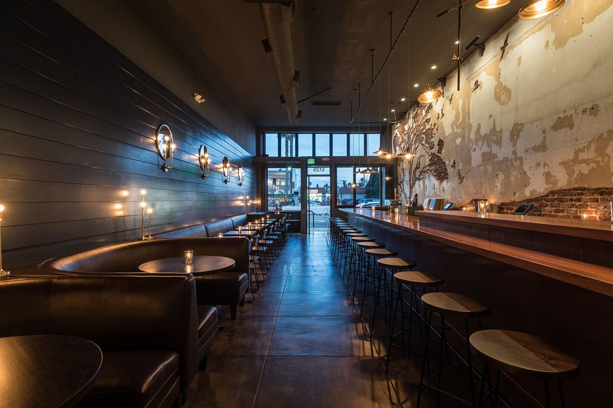 Tabula Rasa bar in Hollywood, California