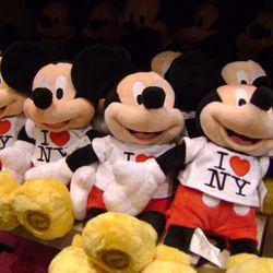 Mickey's back.