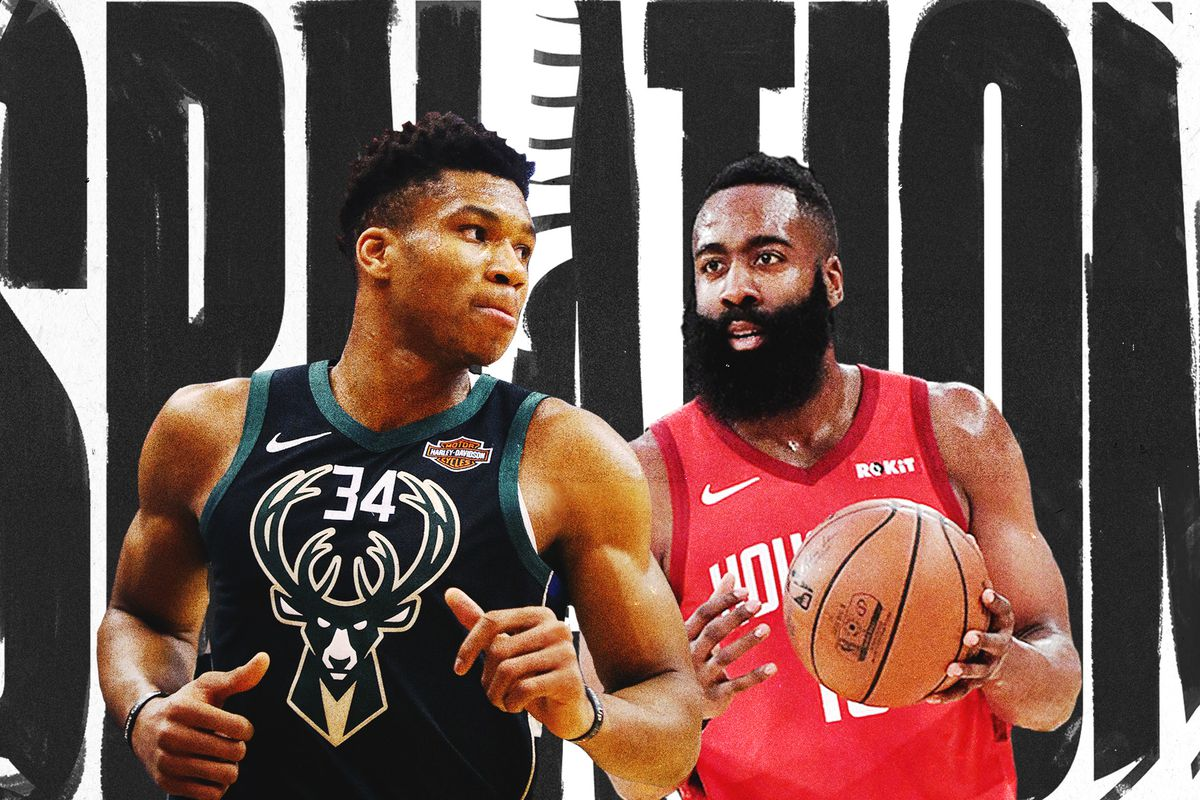 4acdda6ab7f James Harden or Giannis Antetokounmpo  The 2019 NBA MVP debate is  impossible to resolve