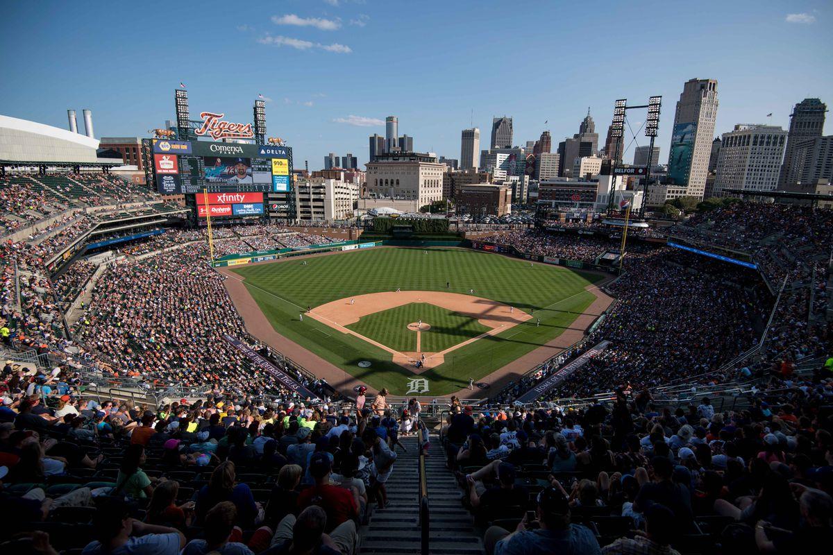 MLB: Los Angeles Dodgers at Detroit Tigers