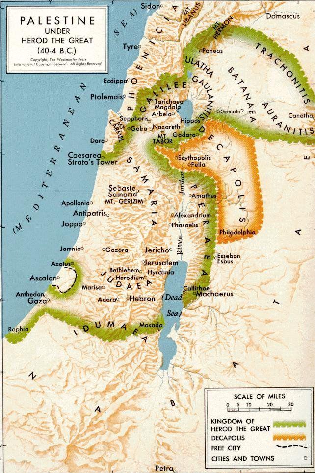 King Herod's Kingdom