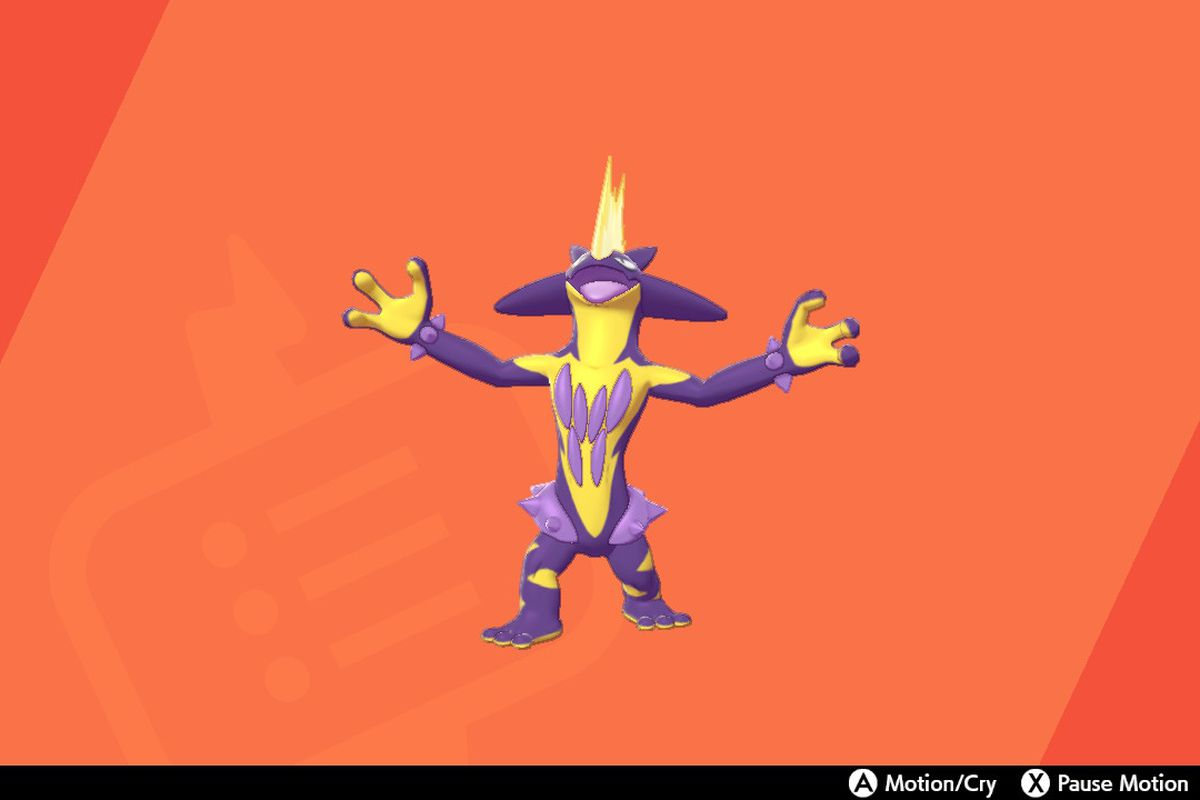 Pokemon Sword and Shield's Toxtricity yelling