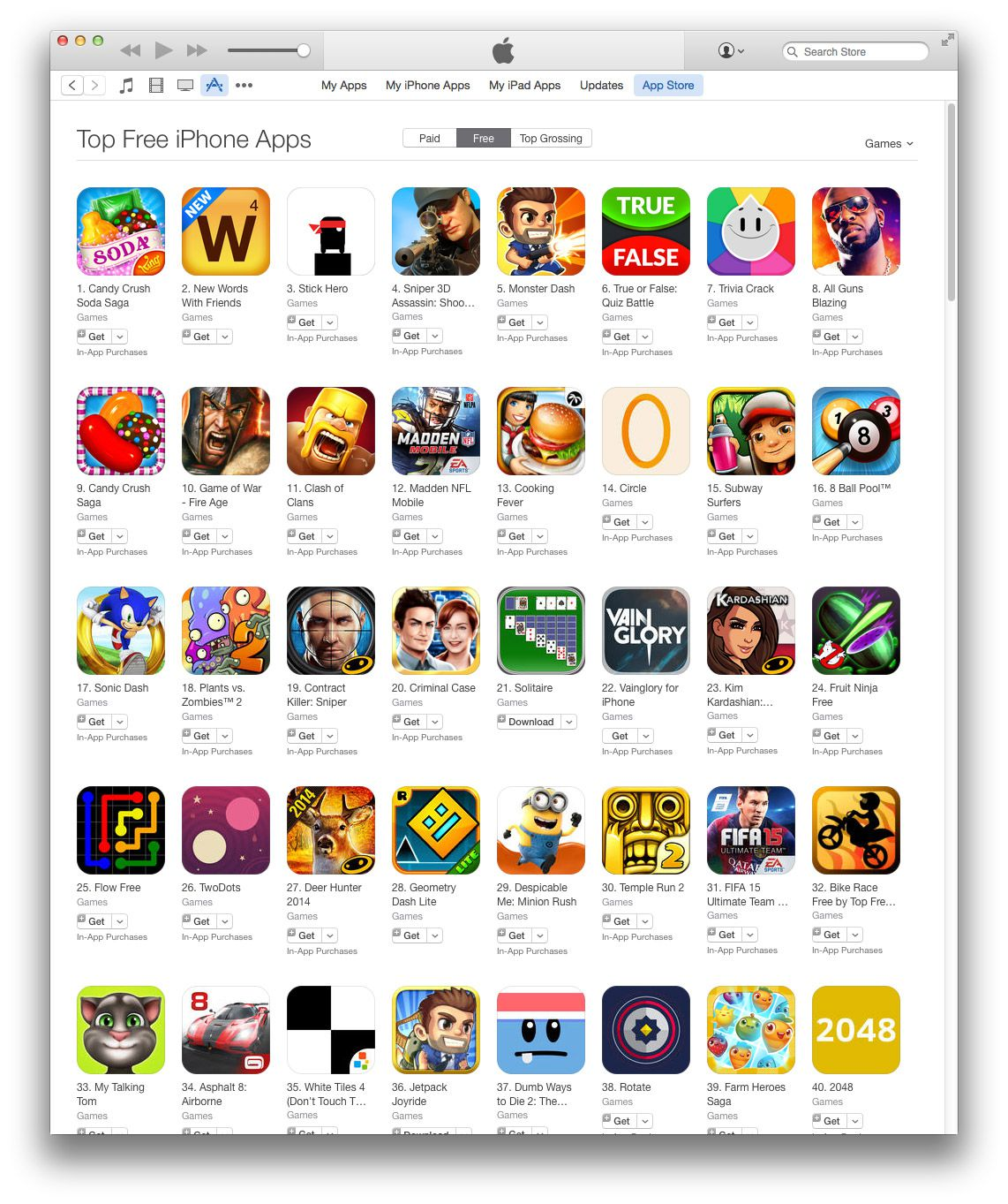 how to get app store games for free
