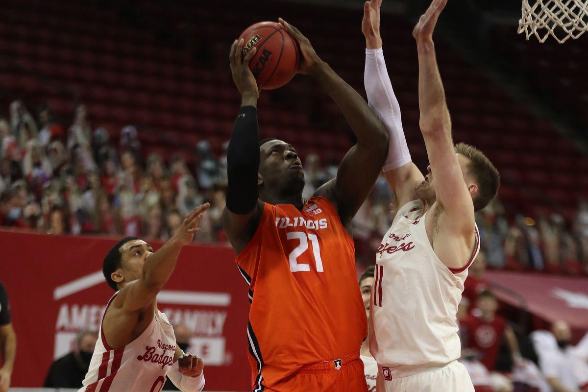 NCAA Basketball: Illinois at Wisconsin
