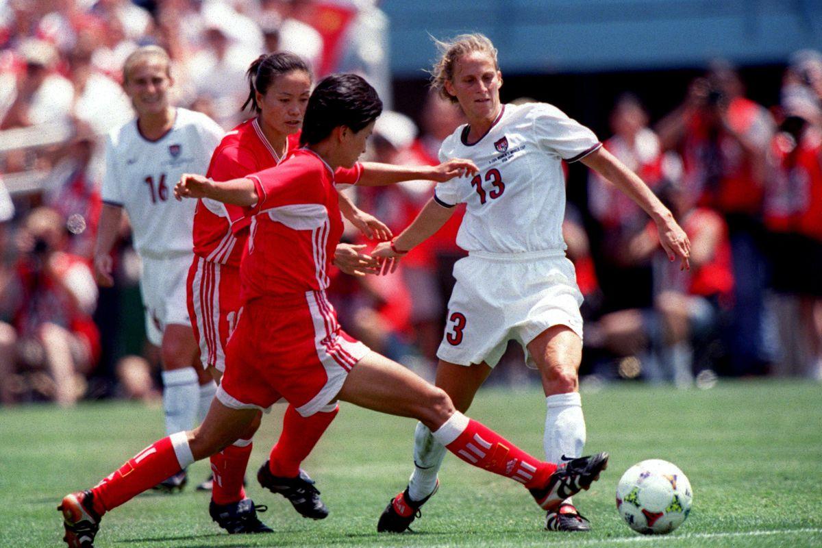 Women's Soccer - World Cup USA 99 - Final - USA v China