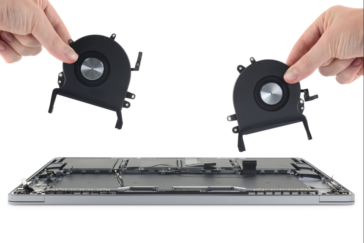 MacBook Pro fans