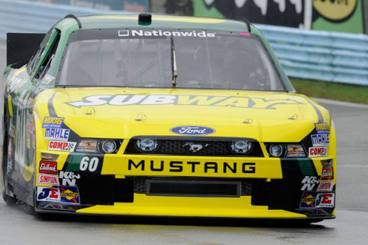 Carl Edwards' NASCAR Nationwide Series car for the race Saturday at Watkins Glen.