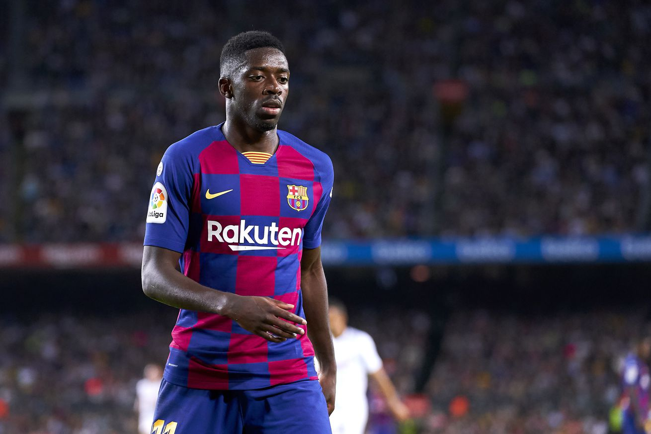 Rivaldo tells Barcelona to have a word with Dembele about ?silly sending off?