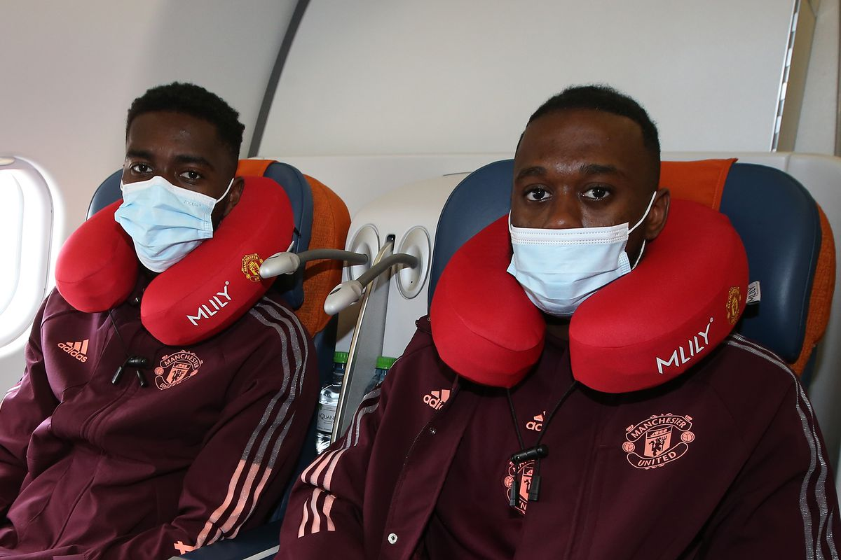 Manchester United Travel To Granada For UEFA Europa League Match
