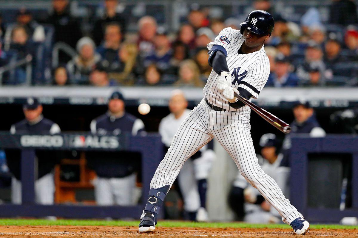 MLB: ALCS-Houston Astros at New York Yankees