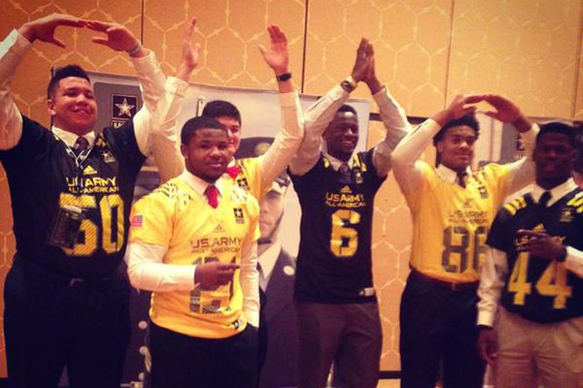 The Buckeyes were well represented at the U.S. Army All-American Bowl