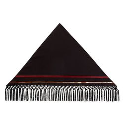 Triangle Fringe Scarf in Plum, $29.99 (Available on Net-A-Porter)