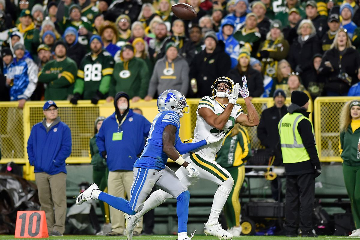 Packers Top Plays Of 2019 4 With Davante Adams Out Allen Lazard Refuses To Lose Acme Packing Company