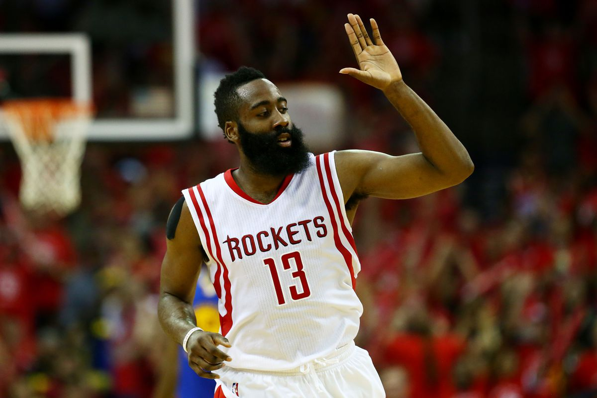 Harden celebrates B-Day with 15-min fireworks show