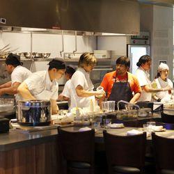 Open Kitchen at Paiche