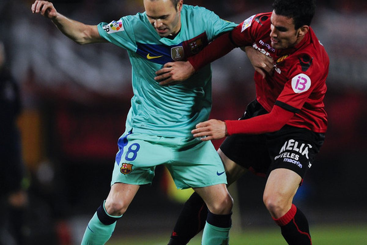 Iniesta will have to have a better game against AC Milan for Barça to get a positive result.