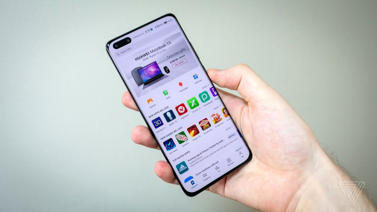Huawei P40 Pro Review There S A Catch The Verge
