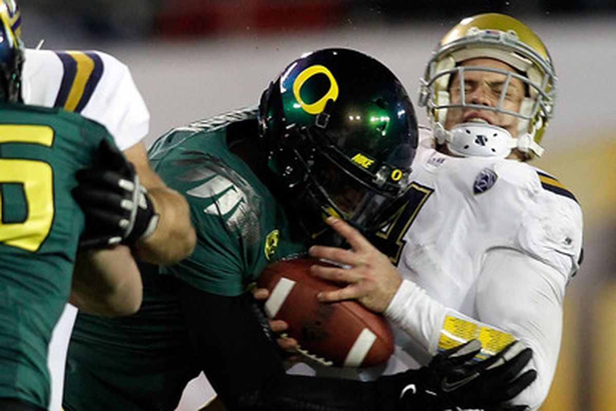 Making Oregon's Dion Jordan angry has its consequences