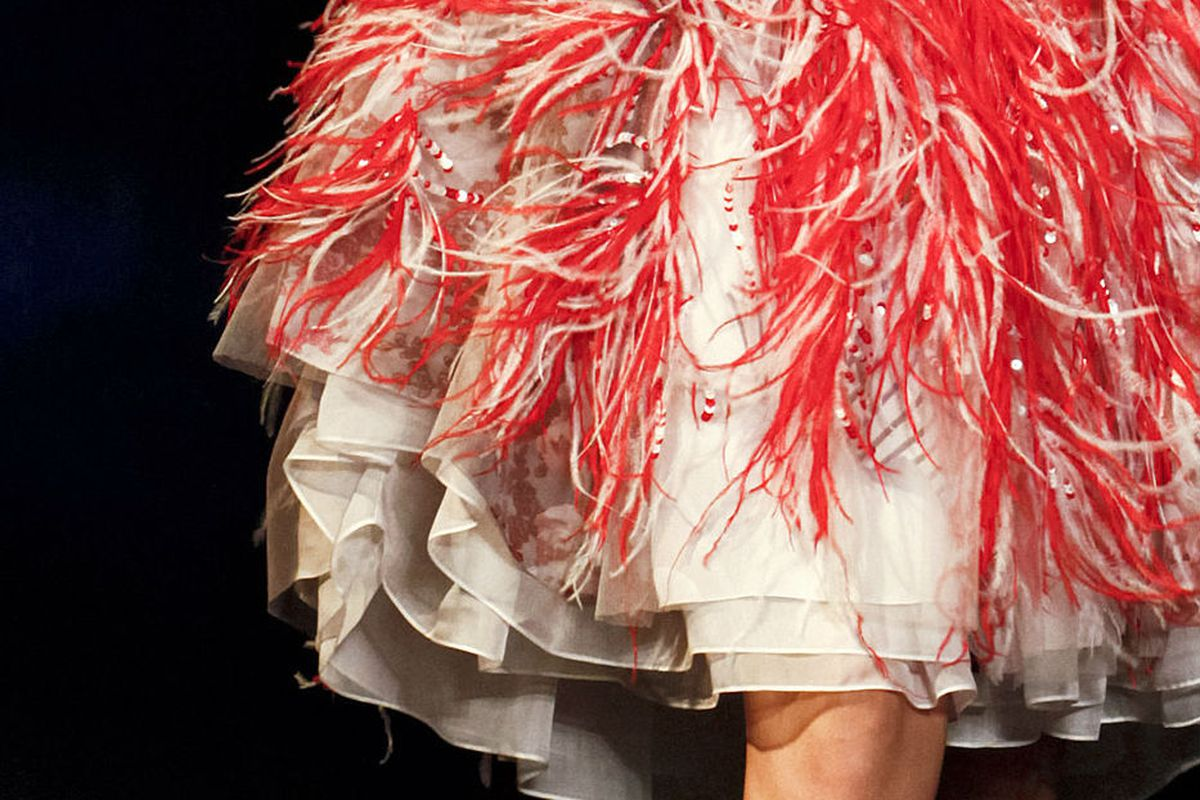 Feathers, lots of 'em. Image via Getty