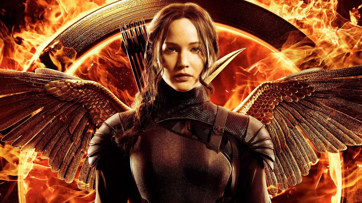 Mockingjay key art Katniss