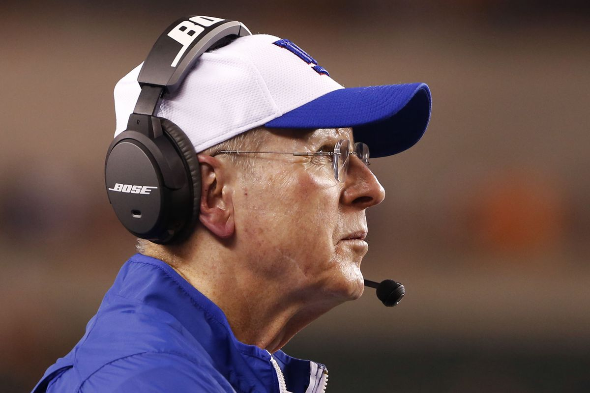 Tom Coughlin on Friday night