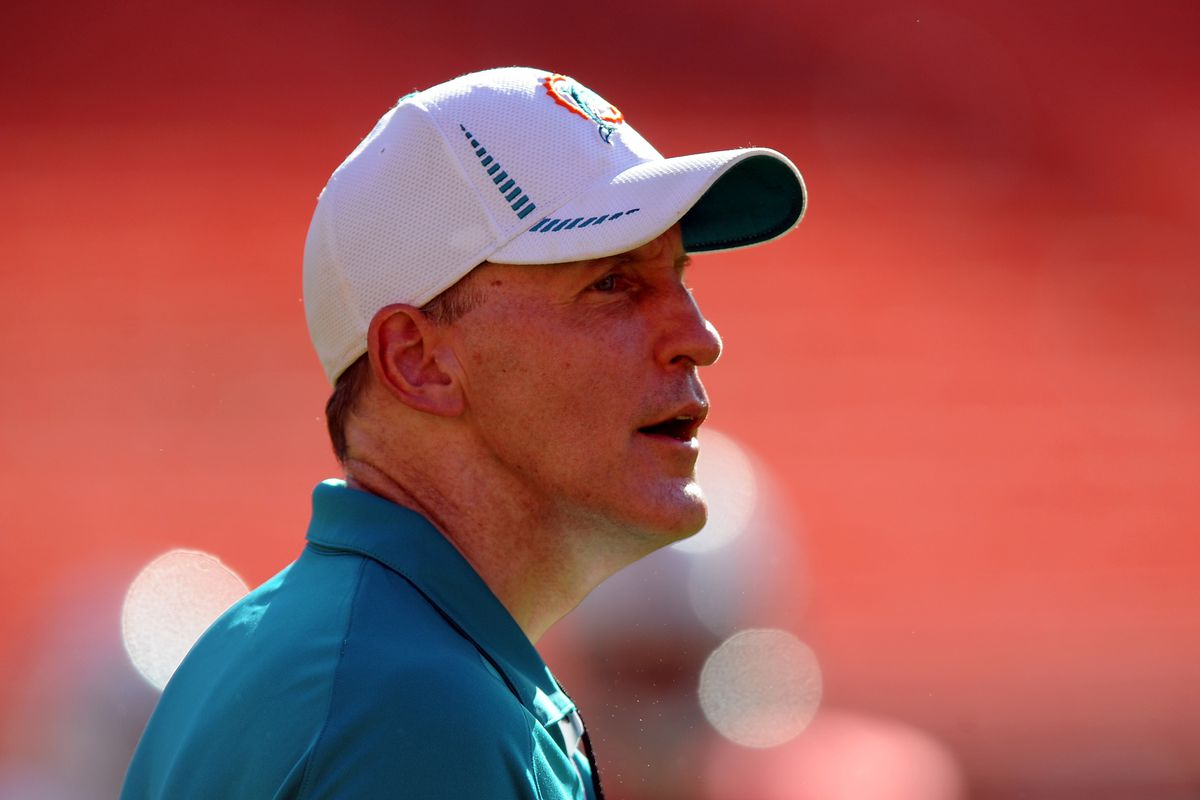 Aug. 4, 2012;  Miami, FL, USA; Miami Dolphins head coach Joe Philbin during a scrimmage at Sun Life Stadium. Mandatory Credit: Steve Mitchell-US PRESSWIRE