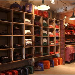 More of the Melrose store. So many bowler bags.
