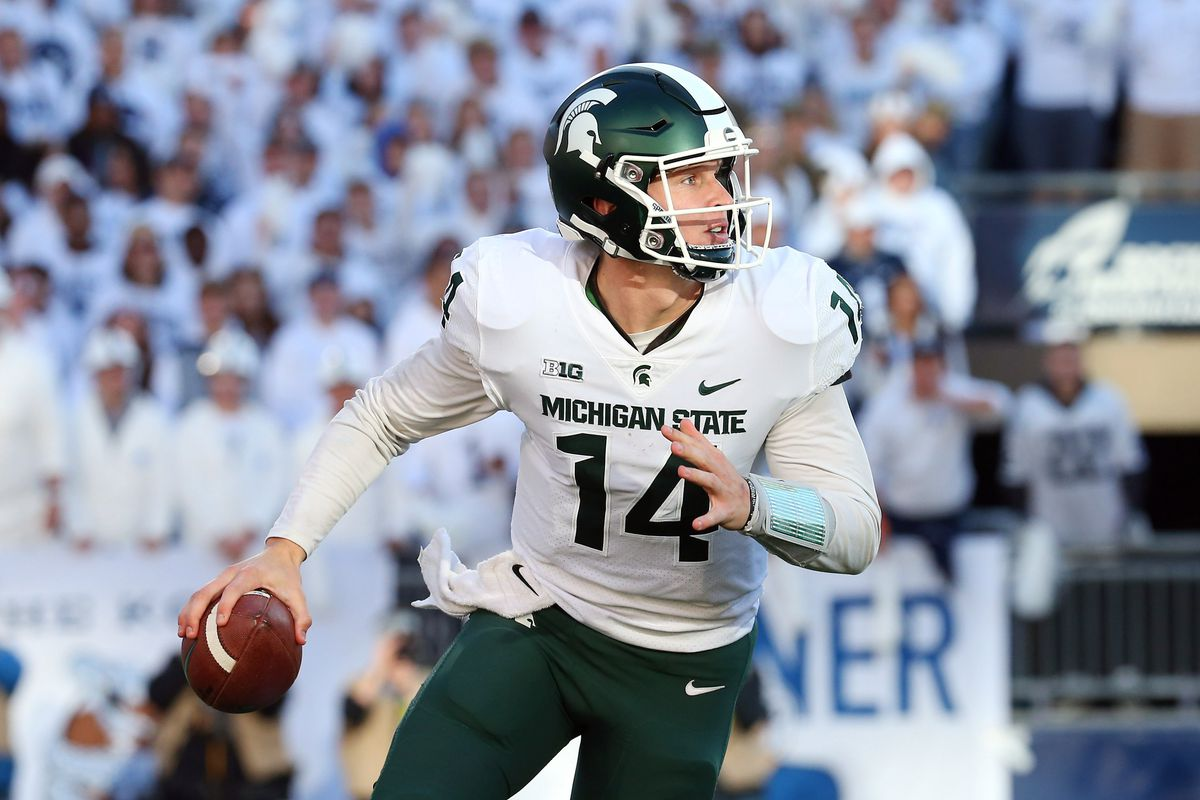 What To Expect From The Michigan State Spartans Quarterbacks In 2019 The Only Colors