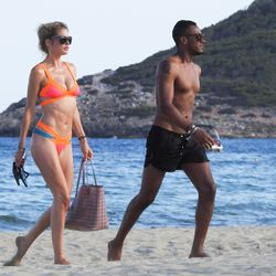 Doutzen Kroes and Sunnery James in Ibiza